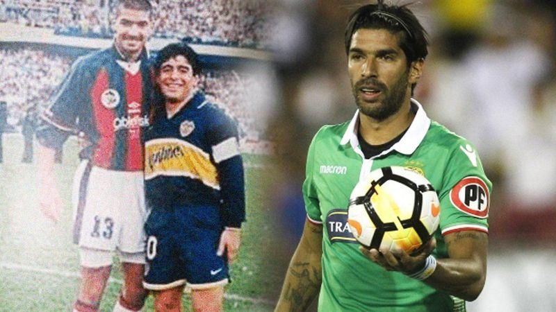 """El uruguayo Abreu deja el fútbol con un récord mundial en el fin de la """"era Diego Maradona"""""""