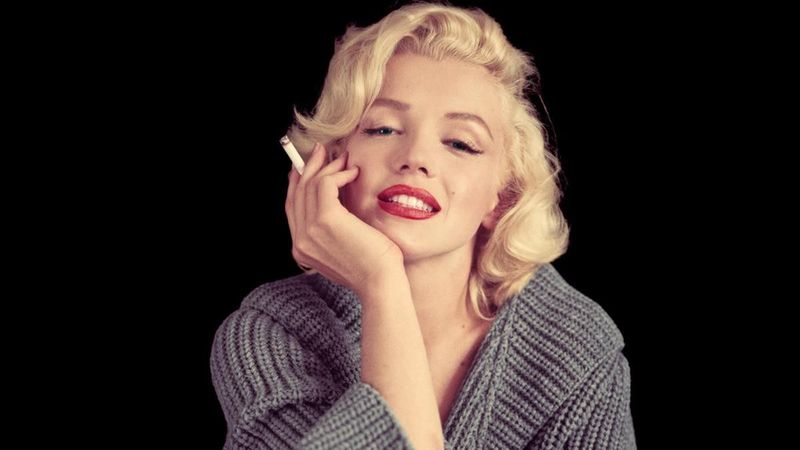 Las fotos de Marilyn Monroe haciendo pesas que nunca antes viste
