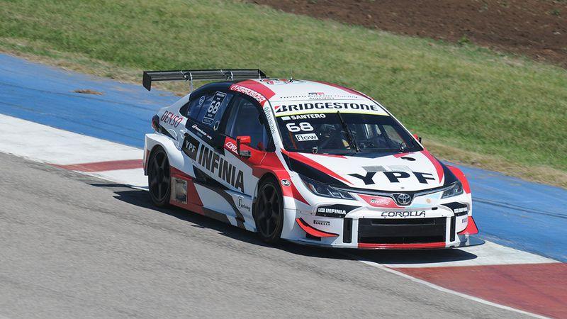 Julián Santero se adueñó de la pole position en Río Cuarto