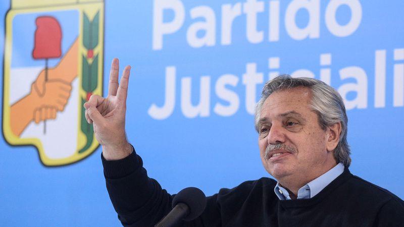 Alberto Fernández anunció obras para dos municipios peronistas de Mendoza
