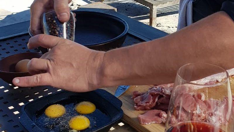 """La receta de hoy: deliciosas milanesitas de cerdo, el plato de """"Fuegos"""""""