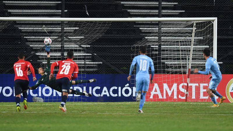 Copa Sudamericana: sobre el final, Independiente consiguió un punto valioso ante Montevideo City Torque