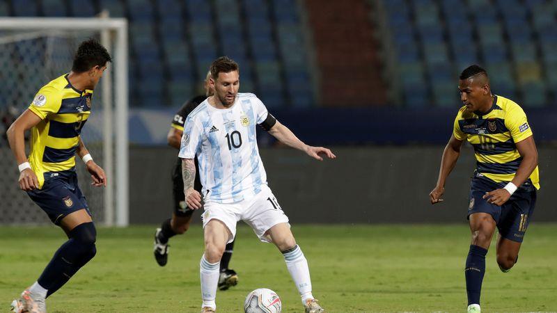 Mirá los goles: con tantos de De Paul, Martínez y Messi, Argentina derrotó por 3-0 a Ecuador y se metió en semifinales
