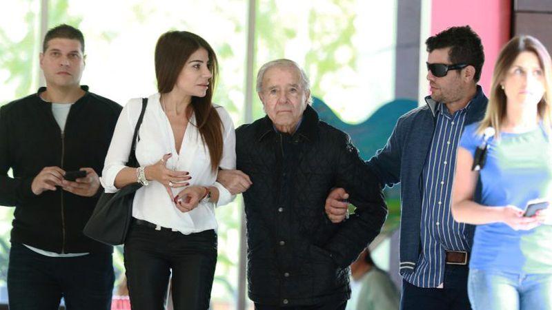 """A tres meses de la muerte de su padre, Carlos Nair Menem habló por primera vez: """"No nos quedaron cuentas pendientes"""""""