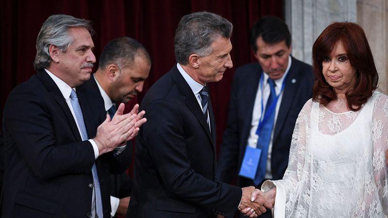 """Macri dijo que """"no se arrepiente"""" del acuerdo con el FMI y reiteró que en el """"gobierno no hay conducción"""""""