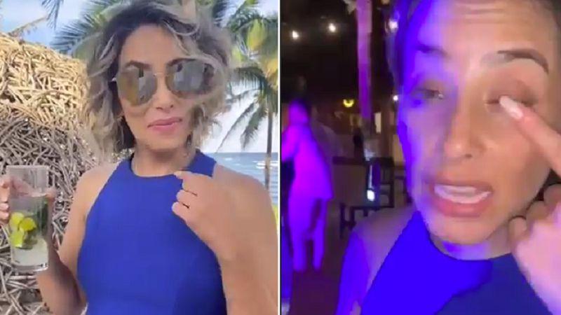 """""""Marisela"""": mostraron su antes y después en un casamiento y se viralizaron por su ebriedad"""
