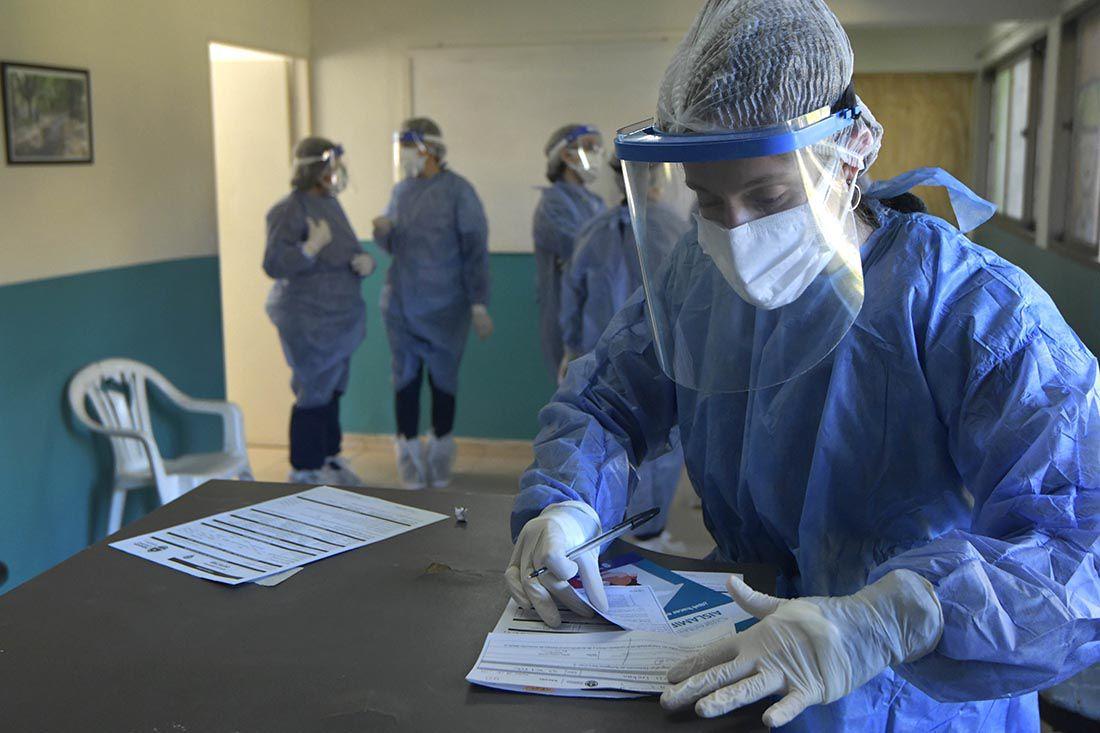 Centro de Testeo Fijo de Covid-19 en el CIC 1 de Ciudad -