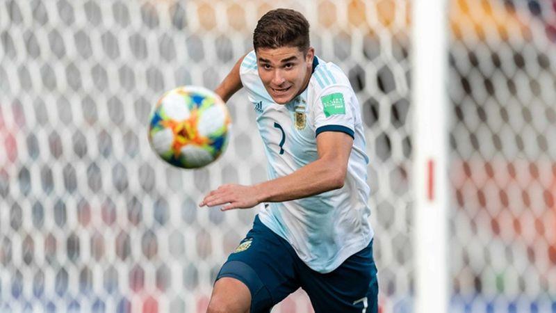 La AFA confirmó la lista para la Copa América: afuera Lucas Alario, adentro Julián Álvarez